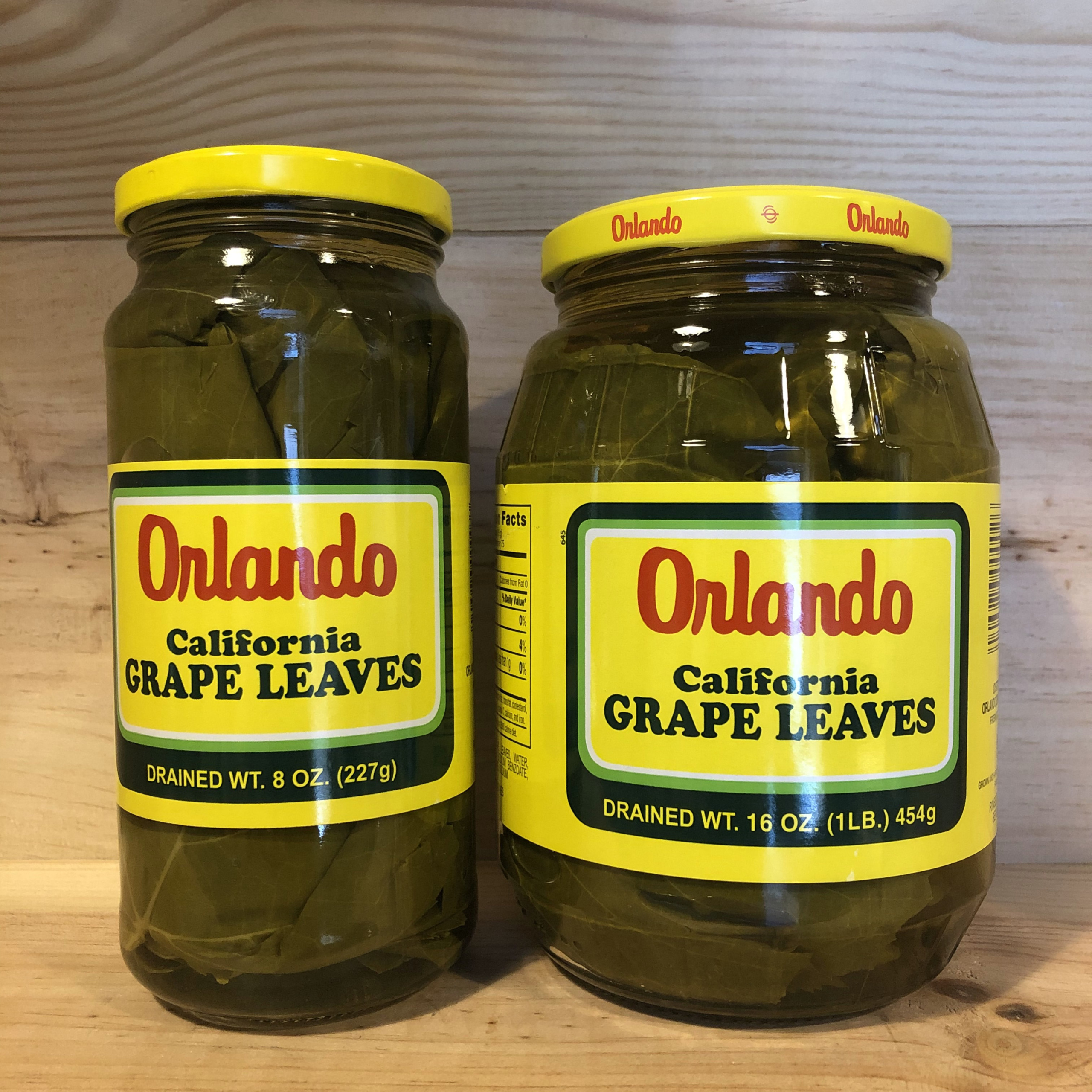 Can Jar Orlando Grape Leaves Ed Hyder S Mediterranean Marketplace